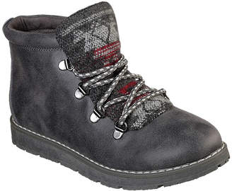 Skechers BOBS FROM  Bobs Womens Alpine Wild Wonder Lace-up Hiking Boots
