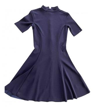 Tommy Jeans Blue Viscose Dresses