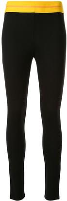 CK Calvin Klein Logo Print Waistband Leggings