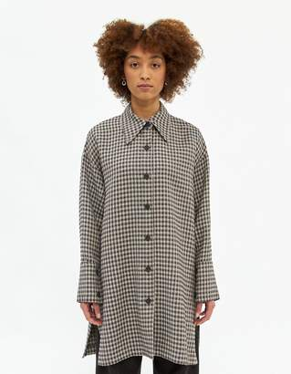 Low Classic Overfit Check Shirt
