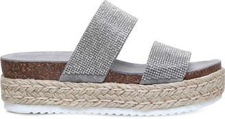 Carvela Karry studded flatform sandals