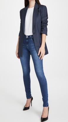 J Brand Sophia Mid Rise Super Skinny Jeans