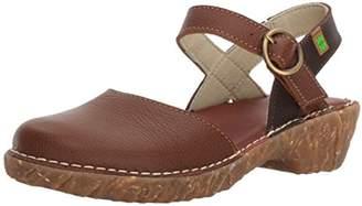 El Naturalista S.A N178 Soft Grain Yggdrasil, Women's Closed-toe heeled shoes, Brown (Wood / Brown), (39 EU)