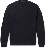 Michael Kors - Slim-fit Textured-cotton Sweater