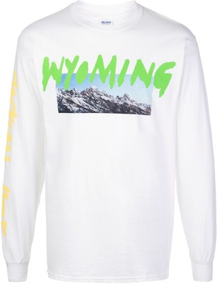 Kanye West Wyoming long-sleeve T-shirt