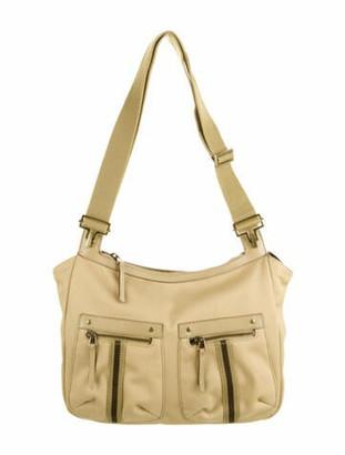 Gucci Canvas Messenger Bag Tan