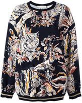 Stella McCartney cat print sweatshirt