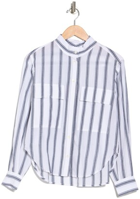 Frame Safari Striped Long Sleeve T-Shirt
