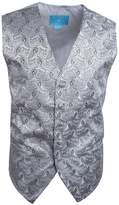 EGC1B08A-3XL Brown Black Patterned Handsome Brand Waistcoat Woven Microfiber Working Mens Vest Vest By Epoint