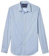 Banana Republic Grant Slim-Fit Custom-Wash Floral Stripe Shirt