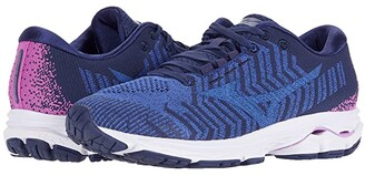 Mizuno Wave Rider WAVEKNITtm 3 (Dazzle Blue/Ultramarine) Women's Running Shoes