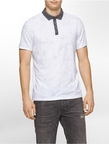 Calvin Klein Slim Fit Textured Polo Shirt