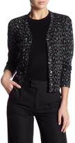 Marc by Marc Jacobs Leopard Wool Blend Cardigan