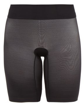 Wolford Sheer Touch Mesh Shapewear Shorts - Womens - Black