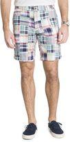 Izod Men's Madras Patchwork Shorts