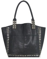 Pyramid Studded Tote
