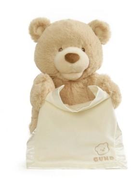 Gund Baby Boys or Girls Animated Peek-a-Boo Bear Plush Toy