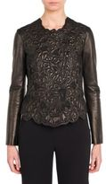 Giorgio Armani Solid Leather Top