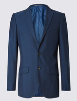 Marks And Spencer Indigo Tailored Fit Suit