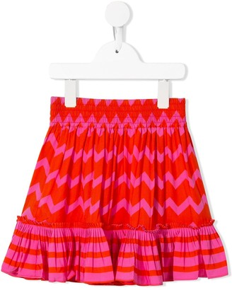 Stella McCartney zig-zag ruffle skirt
