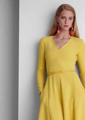 Ralph Lauren Demi Double-Faced Wool Dress