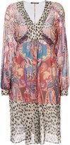 Roberto Cavalli paisley printed dress