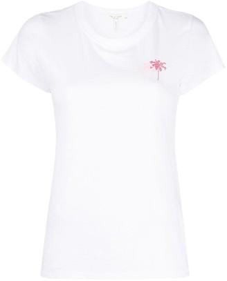 Rag & Bone palm tree print T-shirt