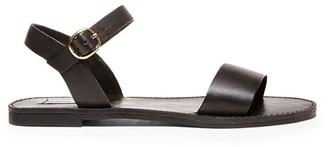 Steve Madden Donddi Black Leather