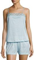 La Perla Liaison Lace-Trim Shortie Pajama Set