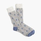 Striped Anchor Socks