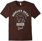 Men's World's Best Boxer Dad TShirt Small