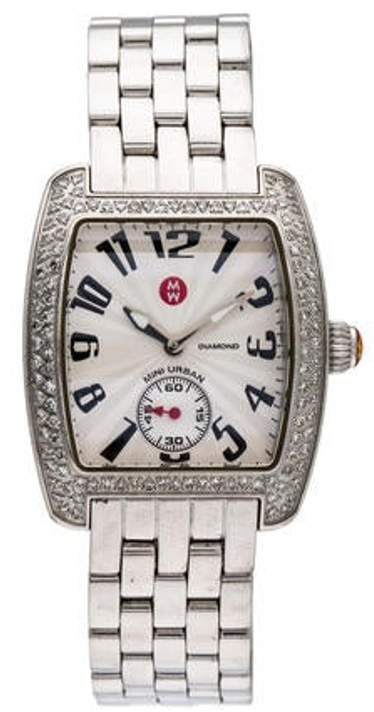 Michele Mini Urban Watch silver Mini Urban Watch