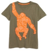 Toddler Boy's Mini Boden Patchwork Animal T-Shirt