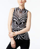 INC International Concepts I.n.c. Embroidered Illusion Top, Created for Macy's