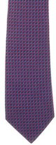 Charvet Box Pattern Silk Tie