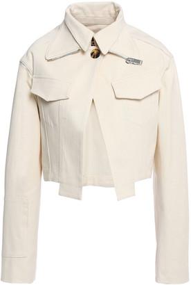 Proenza Schouler Cropped Denim Jacket