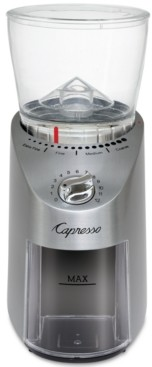 Capresso Infinity Plus Conical Burr Coffee Bean Grinder