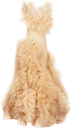 Loulou Tulle Embellished Gown