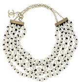 Chanel Pearl Knotted Multistrand Necklace