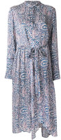 Christian Wijnants paisley print longsleeved dress - women - Silk - 36