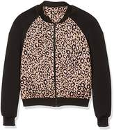 New Look Girl's Leopard Print Colour Block Jackets