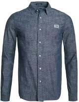 Superdry Seattle Slub Shirt Midnight Slub