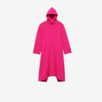 Balenciaga Cocoon Hooded Dress