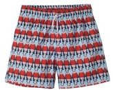 Stella Cove Toddler Boy's Panda Swim Trunks