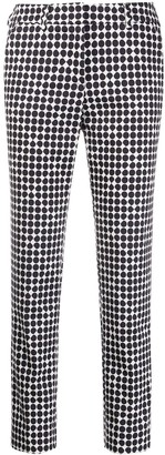 Peserico Polka-Dot Print Trousers