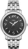 Timex T2N623 38mm Silver Steel Bracelet & Case Women's Watch