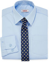 Izod Dress Shirt and Clip-On Tie Set - Preschool Boys 4-7