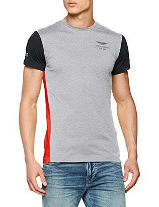Hackett London Men's AMR Multi T T-Shirt, Blk
