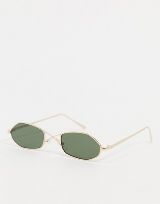 A. J. Morgan AJ Morgan Mince sunglasses with wire cross detail