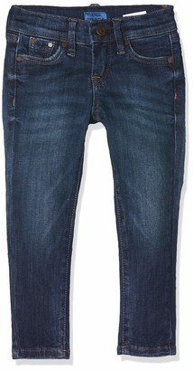 Pepe Jeans Girl's Pixlette Jeans Blue (Denim Ck6) 17-18 Years (Manufacturer size: 18 Years)